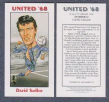 Manchester United David Sadler England 12